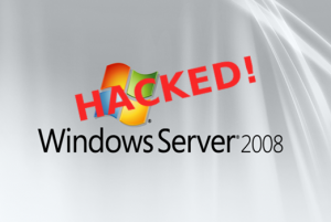 Hacked windows server 2008