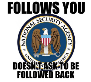 nsa follow you