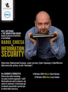 Raoul Chiesa on Information Security